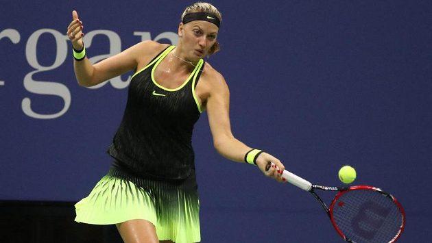 Česká tenistka Petra Kvitová během US Open.