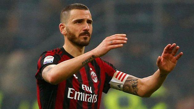 Leonardo Bonucci z AC Milán.