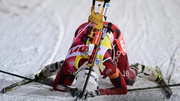 Norka Tora Bergerová vyhrála na mistrovství světa v Novém Městě na Moravě vytrvalostní závod na 15 kilometrů.