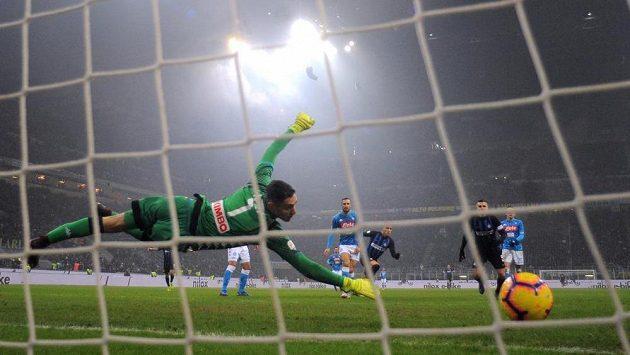 Lautaro Martínez z Interu rozhodl zápas s Neapolí.