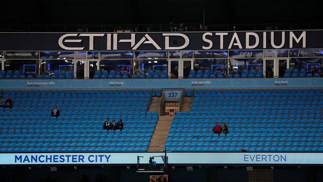 Stadión Manchesteru City.