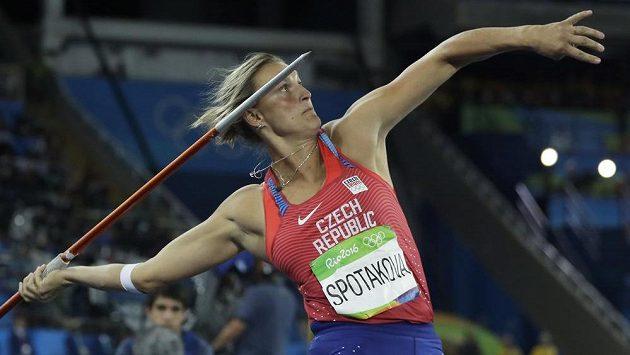 Oštěpařka Barbora Špotáková vybojovala v Riu bronzovou medaili.