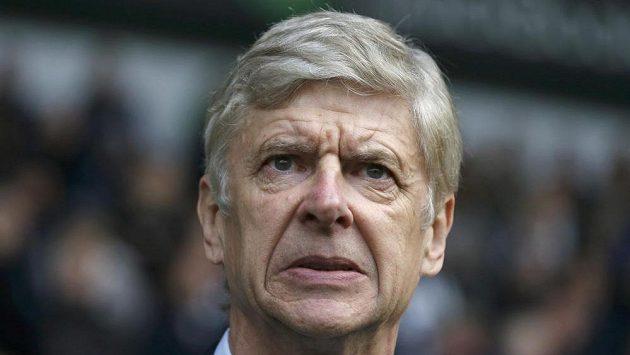 Trenér Arsenalu Arsene Wenger.