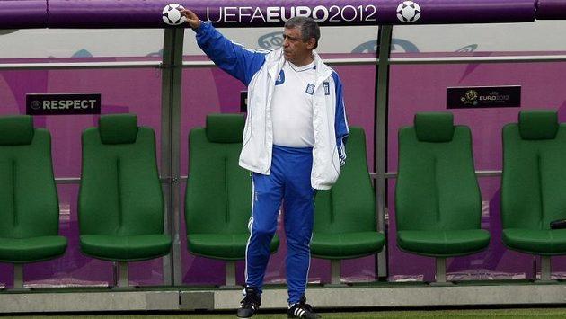 Trenér Portugalců Fernando Santos