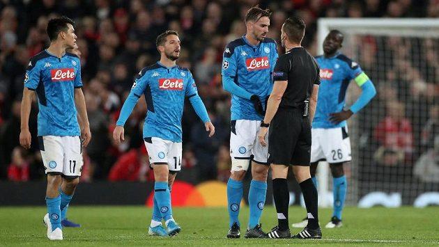 Fotbalisté Neapole (ilustrační foto).