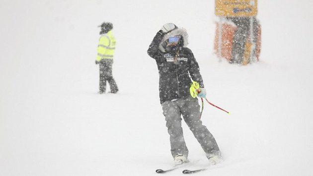 Americká lyžařka Lindsey Vonnová se v Zauchensee kvůli špatnému počasí znovu nedočkala tréninku sjezdu.