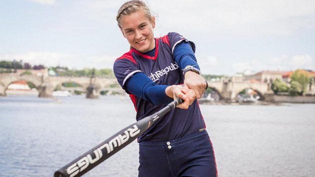 Softbalistka Veronika Pecková.