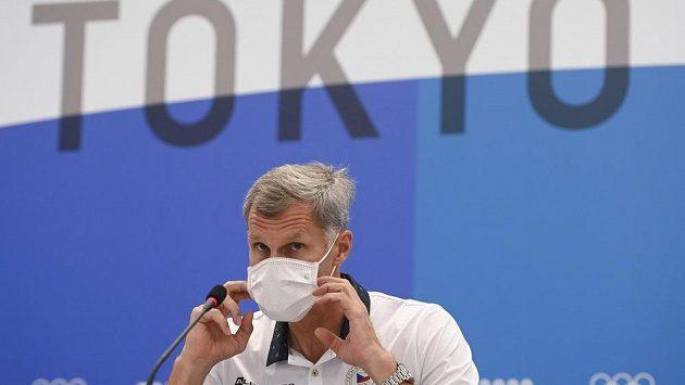 Předseda Českého olympijského výboruJiří Kejval na tiskové konferenci v Tokiu zhodnotil českou účast na končících olympijských hrách.
