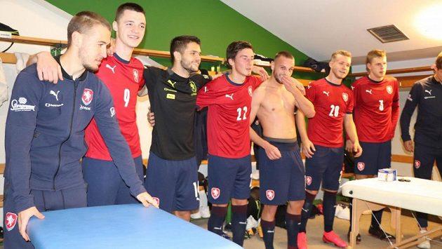 Čeští fotbalisté do 21 let si zahrají na EURO.