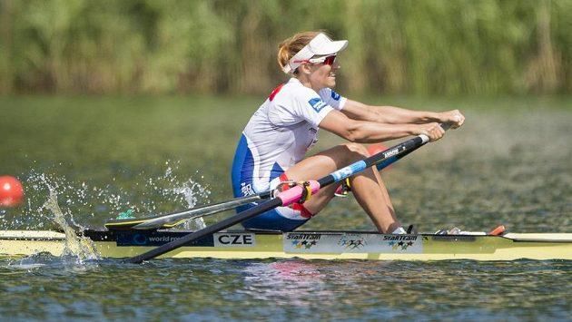 Mirka Knapková si jede pro druhé místo v Lucernu.