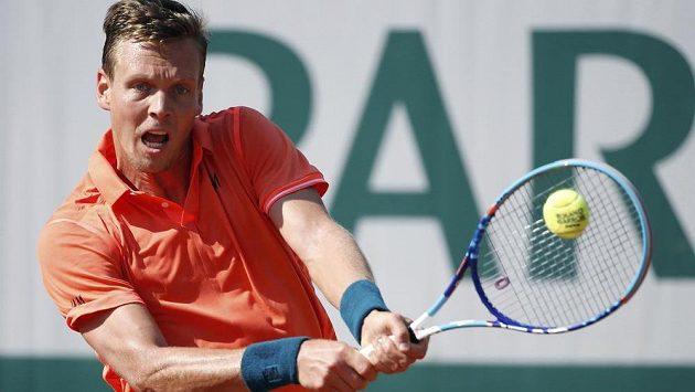 Tomáš Berdych na letošním French Open.