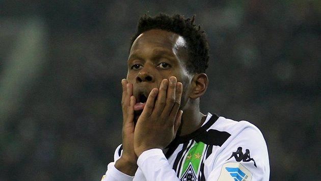 Fotbalista Borussie Mönchengladbach Ibrahima Traore.