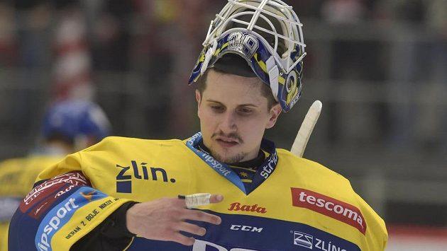 Brankář Libor Kašík ze Zlína.