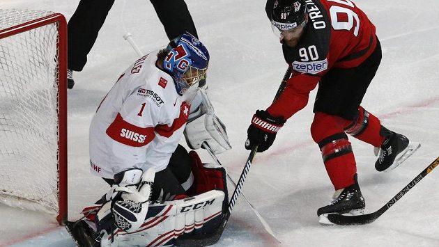 Kanada začala zostra se Švýcarskem, po semdi minutách vedla na MS 2:0, nakonec ale prohrála 2:3 po prodloužení.