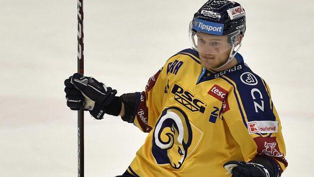 Hokejový útočník Zlína Jan Dufek se na Švédských hrách může dočkat debutu v národním týmu.