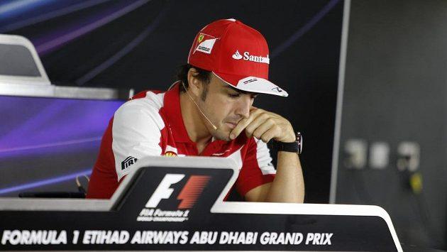 Fernando Alonso přiznal, že už je v myšlenkách v roce 2014.