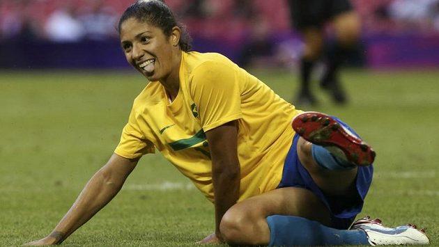 Brazilská útočnice Cristiane dávat góly umí.