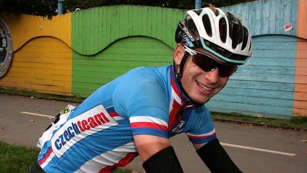 Karel Hník byl druhým nejlepším Čechem v závodě mužů do 23 let.