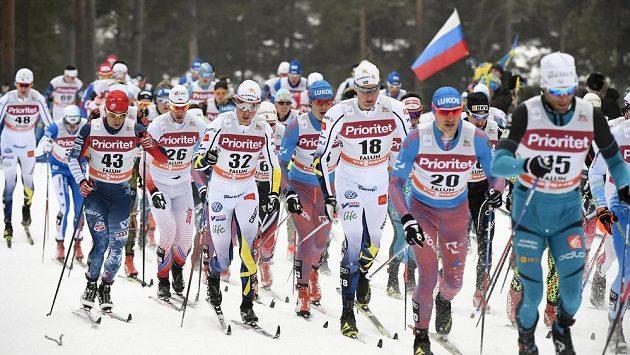 Běžci na lyžích Miroslav Rypl a Jakubové Antoš, Pšenička a Gräf získali na univerziádě bronz ve štafetě - ilustrační foto.