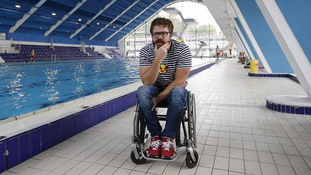 Paralympijský medailista v plavání Jan Povýšil - ilustrační foto.