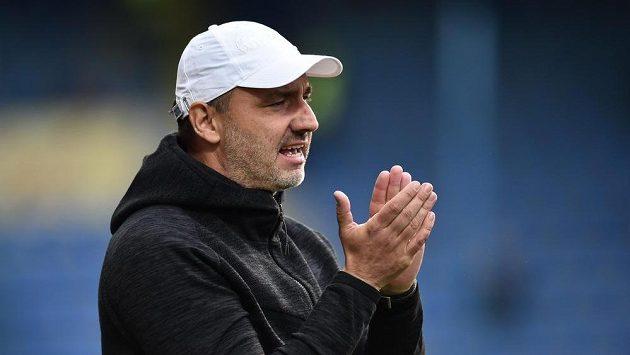 Trenér Slovanu Liberec Jindřich Trpišovský