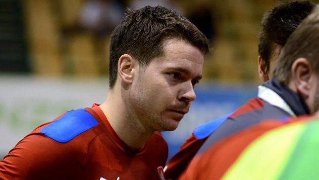 Český futsalový reprezentant Michal Seidler.