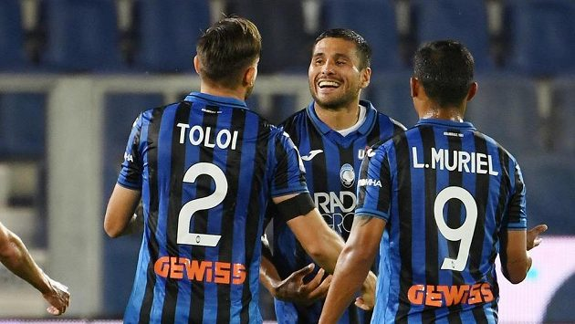 Radující se hráči Bergama, ilustrační snímek.