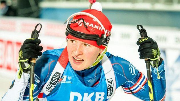 Veronika Vítková v Östersundu.