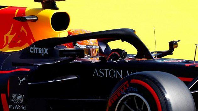Nizozemský pilot Red Bullu Max Verstappen.
