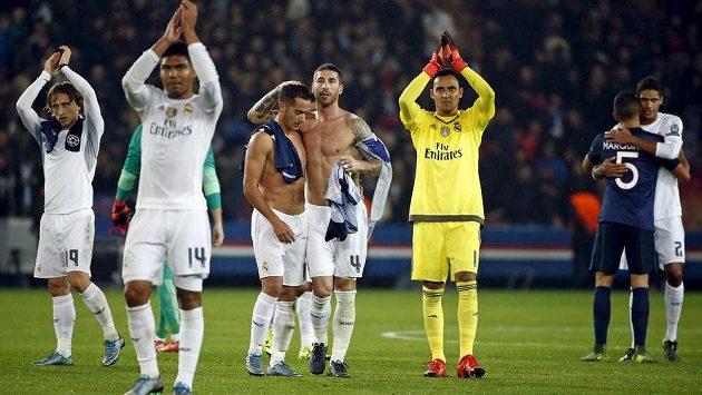 Fotbalisté Realu Madrid.
