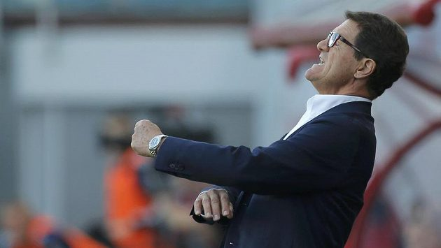 Trenér ruské fotbalové reprezentace Fabio Capello.