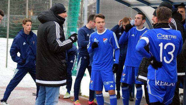 Baník Ostrava během přípravy.