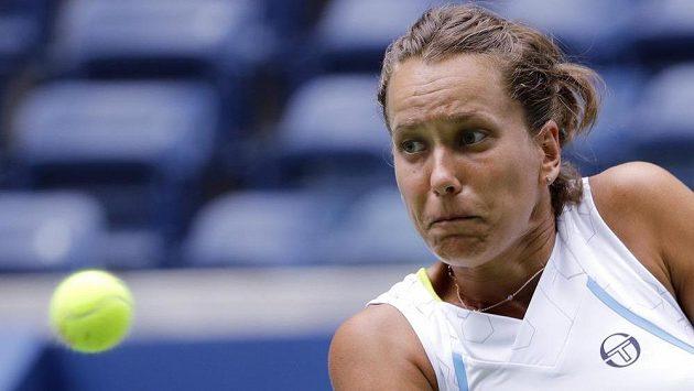 Česká tenistka Barbora Strycová na US Open.