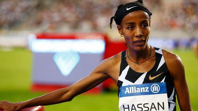 Favorizovaná nizozemská běžkyně Sifan Hassanová ovládla závod na 1 míli na Diamantové lize v Bruselu.
