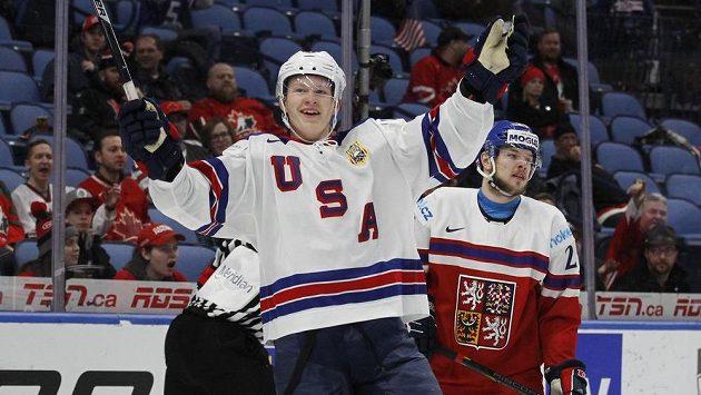 Amrická radost, český smutek. Boj o bronz na MS dvacítek měl po 40 minutách jasný průběh - 7:0 pro USA.