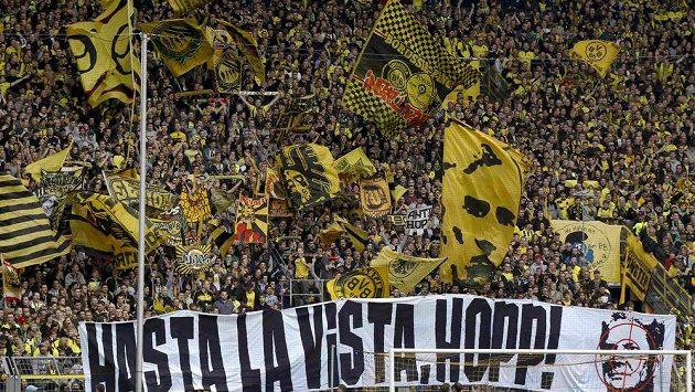 Příznivci Borussie Dortmund se sejdou ve Vestfálské hale.