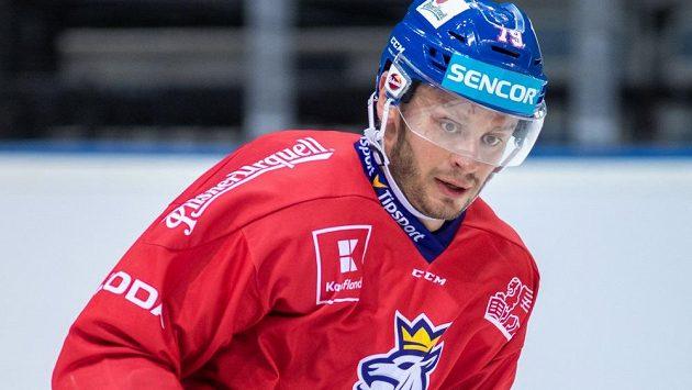 Tomáš Zohorna v dresu národního týmu.