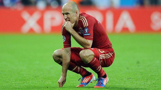 Z Arjena Robbena se v Bayernu Mnichov stal náhradník. Na novou roli si jen těžko zvyká...