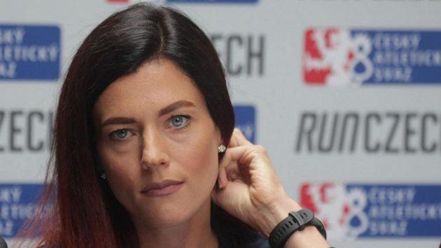 Běžkyně a čerstvá maminka Kristiina Mäki.