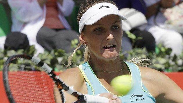 Karolína Plíšková během vítězného turnaje v Soulu.
