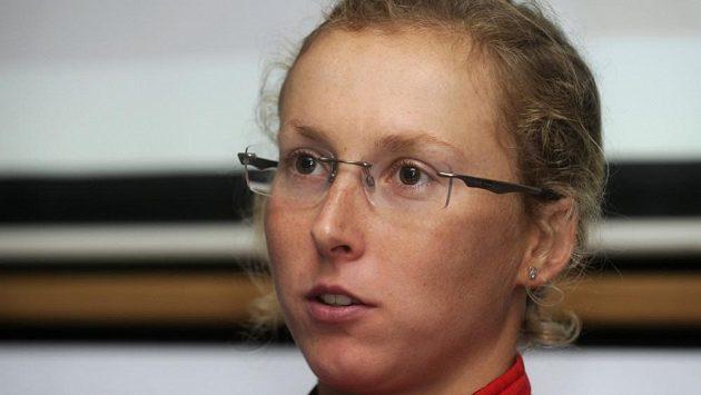 Česká triatlonistka Vendula Frintová.