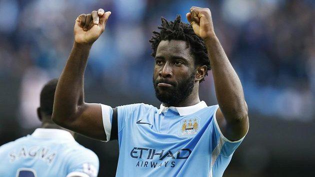 Útočník Manchesteru City Bony Wilfried.