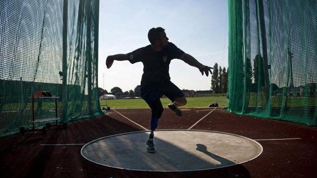 Paralympijský disk - ilustrační foto.