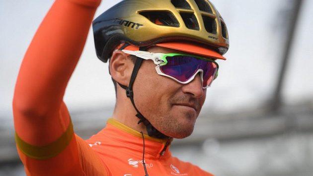 Hvězdný belgický cyklista Greg Van Avermaet