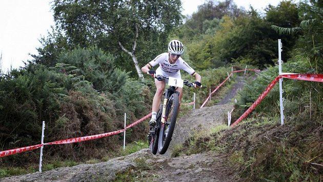 Švýcarka Jolanda Neffová na snímku z nedávného ME v Glasgow.