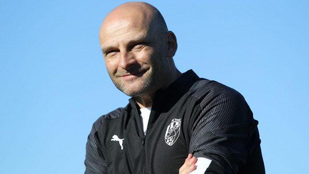 Trenér fotbalové Plzně Adrian Guľa.