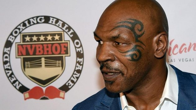 Slavný boxer Mike Tyson.