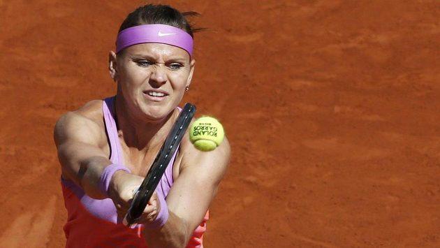 Lucie Šafářová ve finále Roland Garros.
