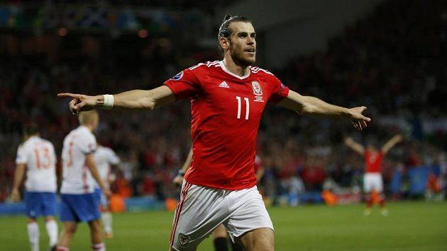 Hvězda velšského výběru Gareth Bale se trefila i ve třetím utkání na ME. Může být soupeřem pro Čechy.