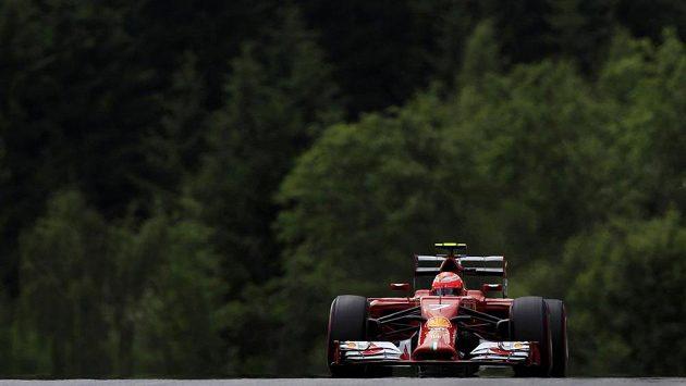 Kimi Räikkönen ze stáje Ferrari.